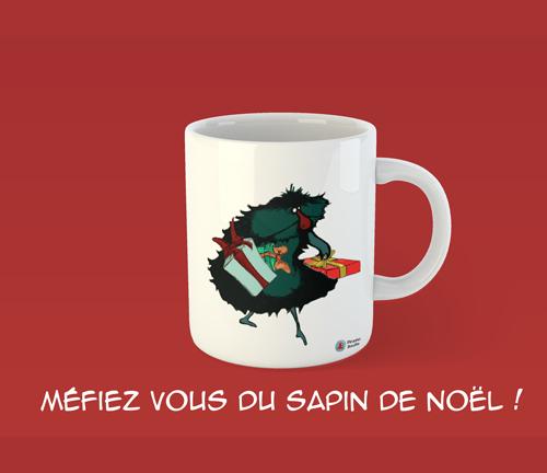 Mug illustré par Piranha Bouille