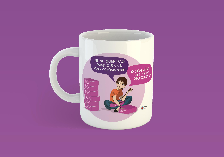 Et un second Mug d'expédié et de deux !!!