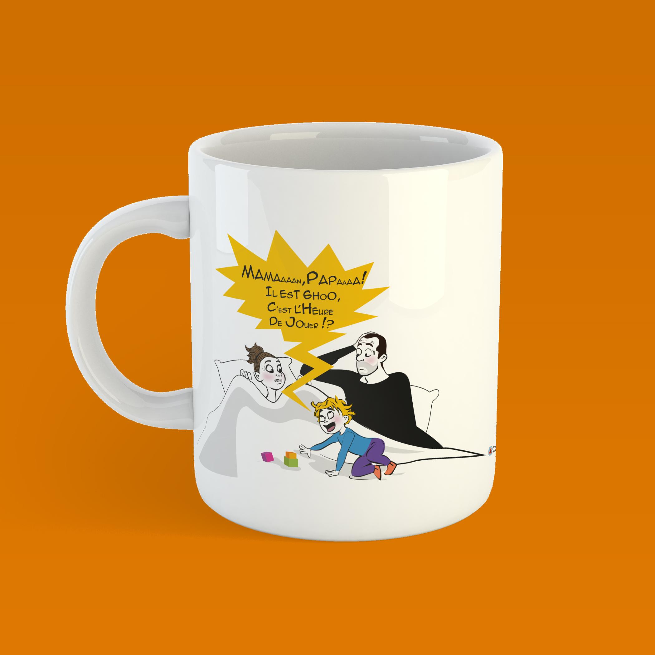 Le Mug illustré a été expédié … arrivé prévu pour Noël !