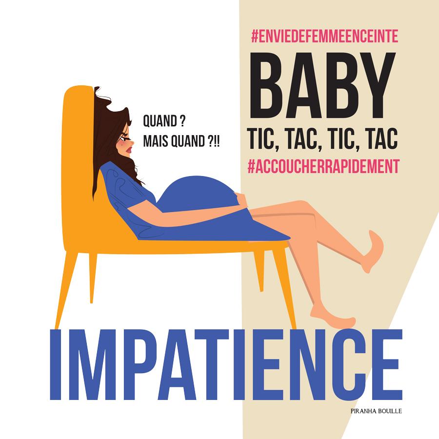 Article BLOG BD Manque évident de motivation : Envie de femme enceinte : Accoucher rapidement !!