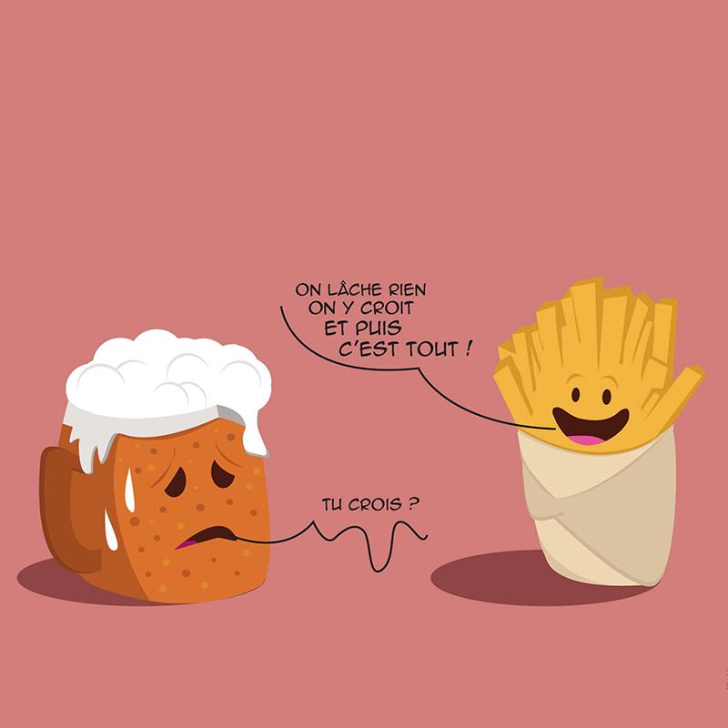 On lâche pas la patate !