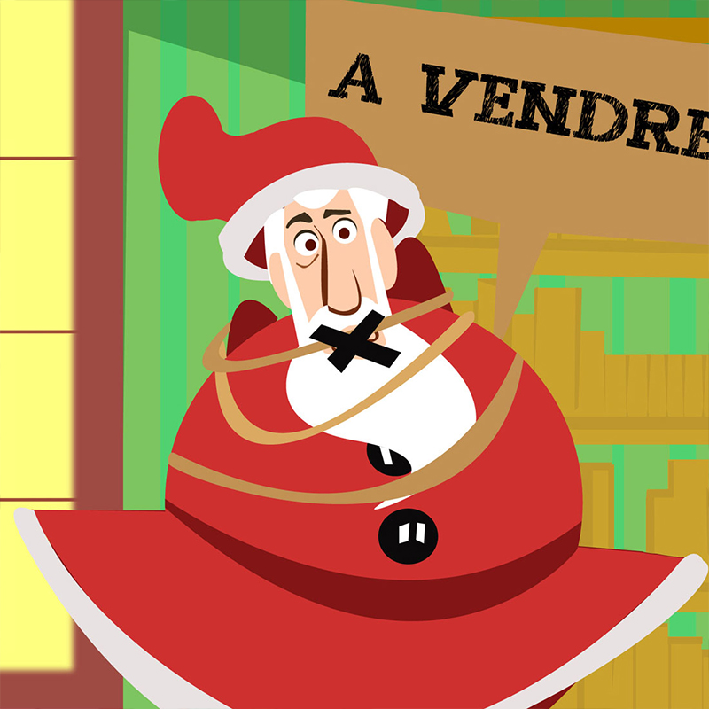 Père Noël à vendre